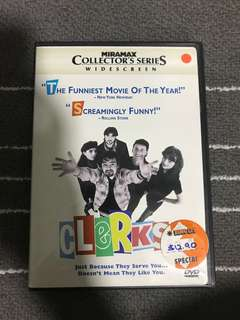 Clerks Movie dvd