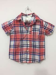 Carters baby Checked shirt 9m