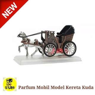 Parfum Mobil Dasboard Model Kereta Kuda