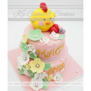 FLOWER 3D CAKE