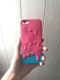 iphone 5 imelt pink blue case