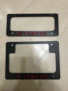 Yamaha Number Plate Holder