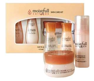 100% Authentic Moistful Collagen Set
