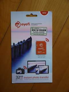 32GB EyeFI mobi Sd Card + Wifi