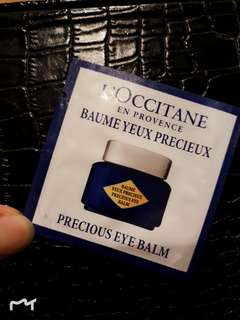 L'occitane eye balm