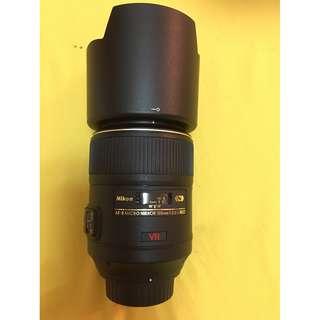 Nikon 尼康 AF-S VR Micro 105mm F2.8G IF-ED  百微 (只用過一次)