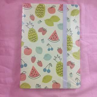 Hardcover Tropical Fruit Journal (Sealed)