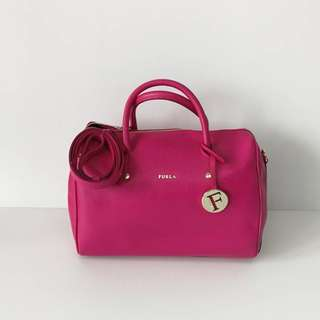 Authentic Furla Speedy Boston Bag
