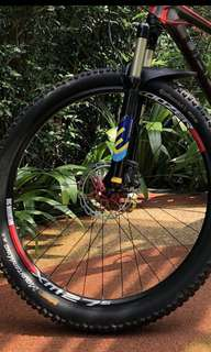 27.5 Continental Mountainking Tyres