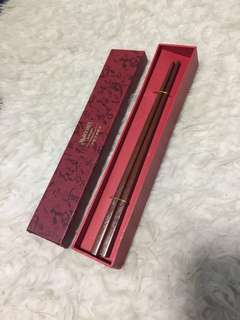 Year of the Rabbit Wooden Chopstick