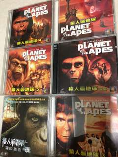 Planet of the Apes VCD 一套