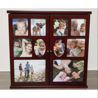 🌸木質照片珠寶盒