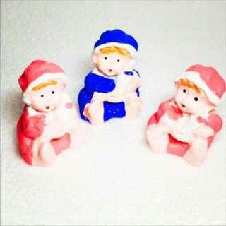 Chalk Figurines (Baby/Couple)