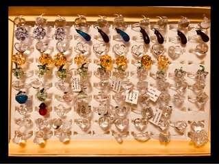 意大利人手造水晶玻璃介指 共91 隻 全要$468 包順丰