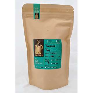 Kopi Bubuk Biji Green Bean Roasted Bean Robusta Lampung 200 Gr