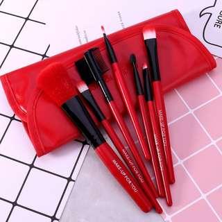 7pcs Beauty Comestic Makeup Brush Kit