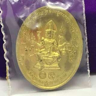 Phra Phrom BE2555 1st batch by CK Maha Surasak of Wat Pradoo Nur Thong Fabaht #296