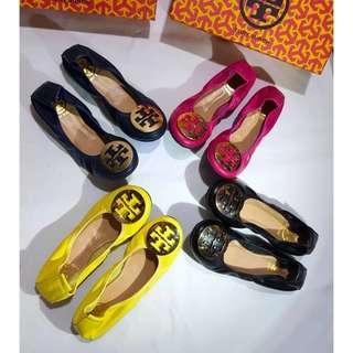 Sepatu Tory Burch Ballet Shoes Mirror Quality