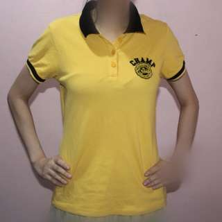 CRISSA YELLOW POLO SHIRT