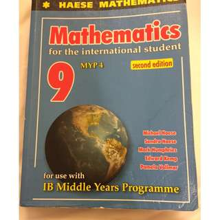Mathematics IB 9 MYP 4 by Michael Haese