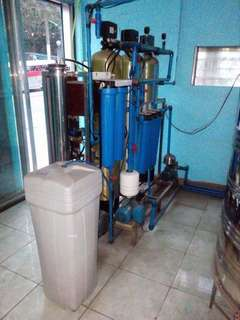 Purified Drinking Water Setup Machine