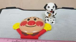 "Electronic Sound Anpanman and ""barking"" dog"