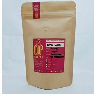 Kopi Bubuk Biji Green Bean Roasted Bean Gayo Wine 100 Gr