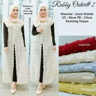 Ruby outer rubiah - Grey