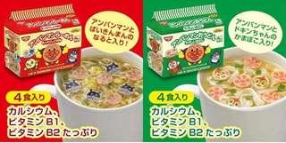 日本直送 麵包超人無味精烏冬 / 醬油麵