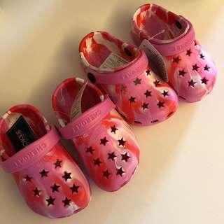 Baby Girl Shoes 西松屋星星涼鞋 14cm