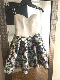Cute special event floral dress size XS