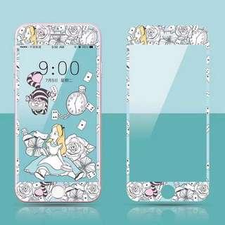 愛麗絲 iPhone 7/8 plus mon貼