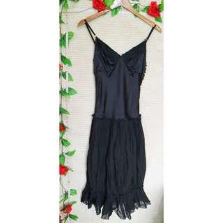 ⚡PRELOVED⚡Black Midi Dress