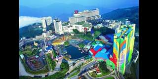 2 Way Private Ride to Genting Highlands with Movie and Theatre sound.