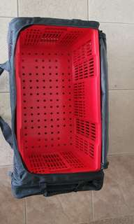 Scuba Diving Mesh Bag with Crate