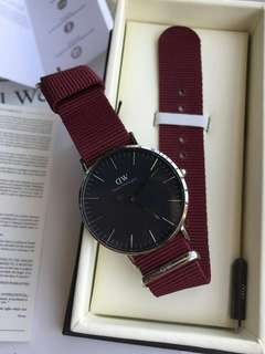 Daniel Wellington Classic Black Roselyn original