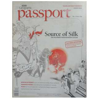 ASIAN GEOGRAPHIC MAGAZINE-SILK ROAD IN CHINA (Jan-March 2009)
