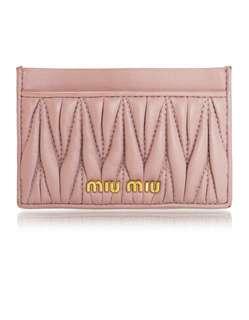 Miu Miu cardholder (100% new) 卡片套
