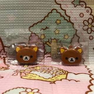 rilakkuma mirror charm set 🐻 鬆弛熊鏡吊飾