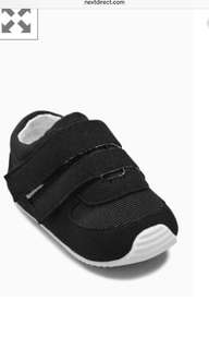 Baby Shoes - Black trainer