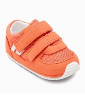 Baby Shoes - Orange trainer