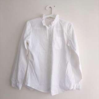 荷葉領襯衫