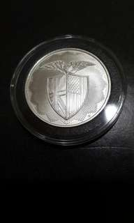 RMR Shield 1 oz Silver Round