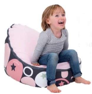 新手媽媽育兒好物!比利時Doomoo 棉柔升級版 頂級貝比荳荳椅