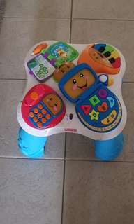 As is where is table toy for toddlers