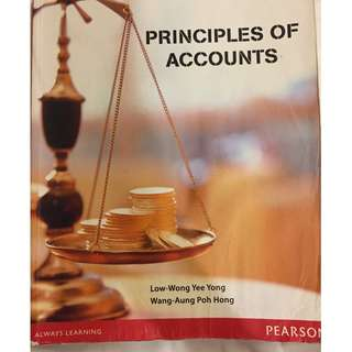 Pearson Principles of Accounts
