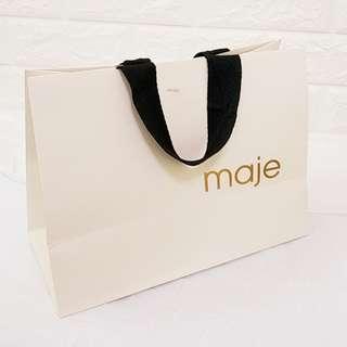 名牌紙袋 Maje Paper bag
