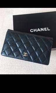 Authentic CHANEL Bifold Yen Wallet