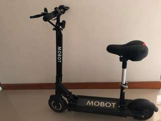 selling escooter mobot       selling at $500 fast deal!   no nego