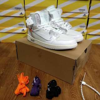 (Limited) Off-White x Air Jordan 1 Retro High OG White